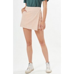 Billabong Lady Pink Pacsunasymmetrical Corduroy Skirt