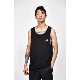 Champion Mens Black Pacsunorford Relaxed Tank Top
